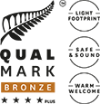 Qualmark - Holiday Park - 4 Star Plus Bronze